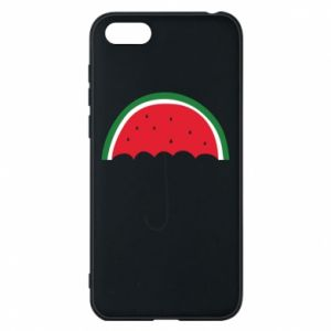 Phone case for Huawei Y5 2018 Watermelon umbrella - PrintSalon