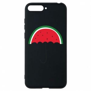 Phone case for Huawei Y6 2018 Watermelon umbrella - PrintSalon