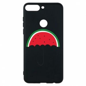 Phone case for Huawei Y7 Prime 2018 Watermelon umbrella - PrintSalon