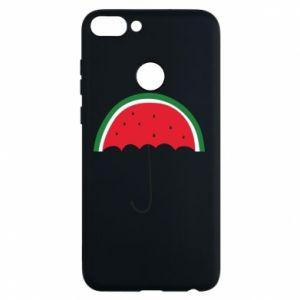 Phone case for Huawei P Smart Watermelon umbrella - PrintSalon
