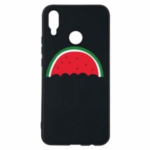 Phone case for Huawei P Smart Plus Watermelon umbrella - PrintSalon