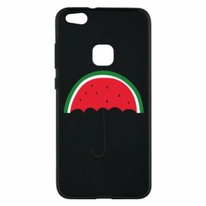 Phone case for Huawei P10 Lite Watermelon umbrella - PrintSalon