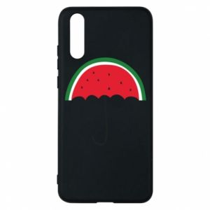 Phone case for Huawei P20 Watermelon umbrella - PrintSalon