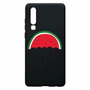 Phone case for Huawei P30 Watermelon umbrella - PrintSalon