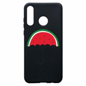 Phone case for Huawei P30 Lite Watermelon umbrella - PrintSalon