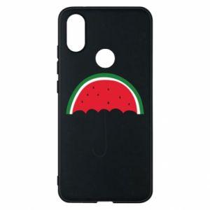 Phone case for Xiaomi Mi A2 Watermelon umbrella - PrintSalon