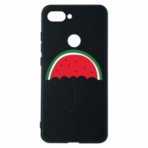 Phone case for Xiaomi Mi8 Lite Watermelon umbrella - PrintSalon