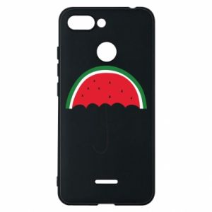 Phone case for Xiaomi Redmi 6 Watermelon umbrella - PrintSalon