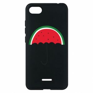 Phone case for Xiaomi Redmi 6A Watermelon umbrella - PrintSalon