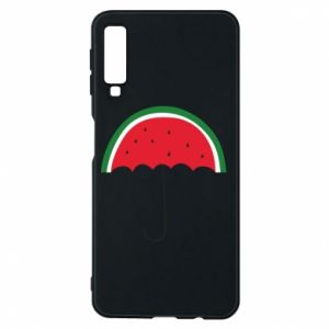 Phone case for Samsung A7 2018 Watermelon umbrella - PrintSalon