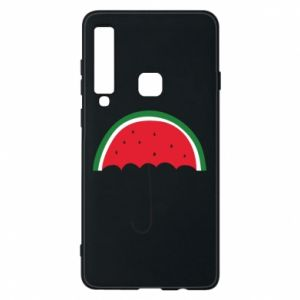 Phone case for Samsung A9 2018 Watermelon umbrella - PrintSalon