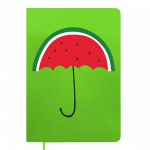 Notepad Watermelon umbrella - PrintSalon