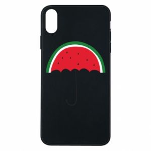 Phone case for iPhone Xs Max Watermelon umbrella - PrintSalon