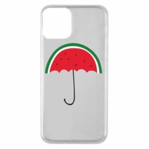 Phone case for iPhone 11 Watermelon umbrella - PrintSalon