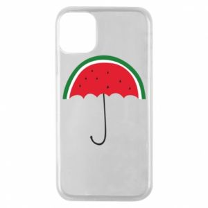 Phone case for iPhone 11 Pro Watermelon umbrella - PrintSalon