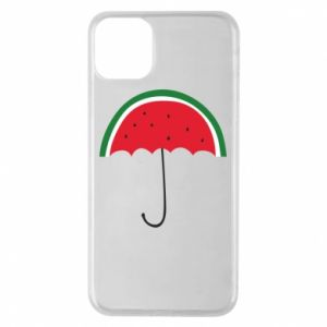 Phone case for iPhone 11 Pro Max Watermelon umbrella - PrintSalon