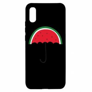 Xiaomi Redmi 9a Case Watermelon umbrella
