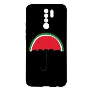 Etui na Xiaomi Redmi 9 Watermelon umbrella
