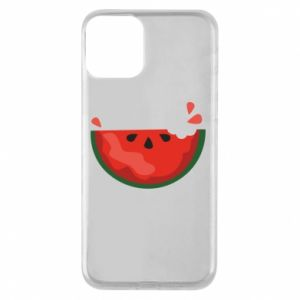 Etui na iPhone 11 Watermelon with a bite