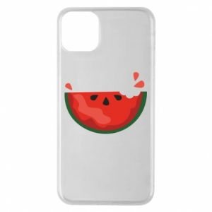 Etui na iPhone 11 Pro Max Watermelon with a bite