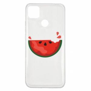 Etui na Xiaomi Redmi 9c Watermelon with a bite