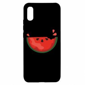 Etui na Xiaomi Redmi 9a Watermelon with a bite