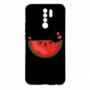 Etui na Xiaomi Redmi 9 Watermelon with a bite