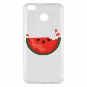Etui na Xiaomi Redmi 4X Watermelon with a bite