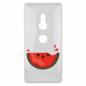 Etui na Sony Xperia XZ2 Watermelon with a bite