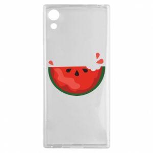 Etui na Sony Xperia XA1 Watermelon with a bite