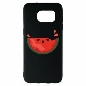 Etui na Samsung S7 EDGE Watermelon with a bite