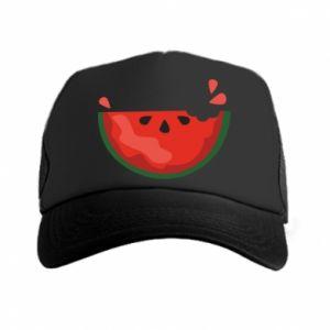 Czapka trucker Watermelon with a bite