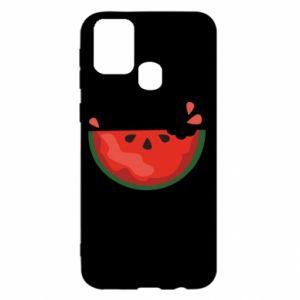 Etui na Samsung M31 Watermelon with a bite