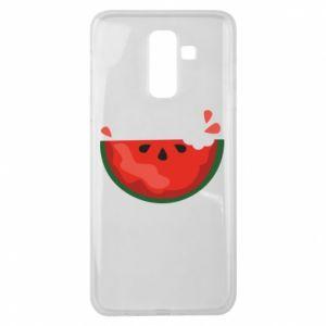 Etui na Samsung J8 2018 Watermelon with a bite
