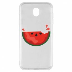 Etui na Samsung J7 2017 Watermelon with a bite