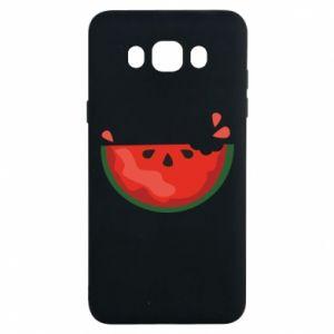 Etui na Samsung J7 2016 Watermelon with a bite
