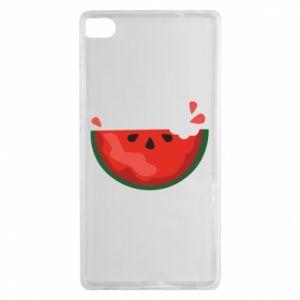 Etui na Huawei P8 Watermelon with a bite