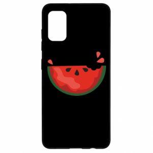 Etui na Samsung A41 Watermelon with a bite