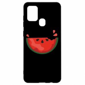 Etui na Samsung A21s Watermelon with a bite