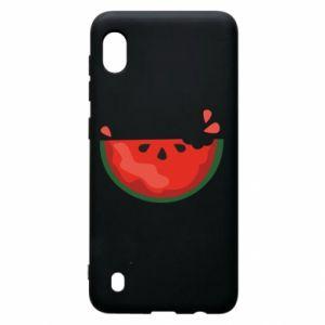 Etui na Samsung A10 Watermelon with a bite