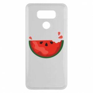 Etui na LG G6 Watermelon with a bite