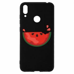Etui na Huawei Y7 2019 Watermelon with a bite
