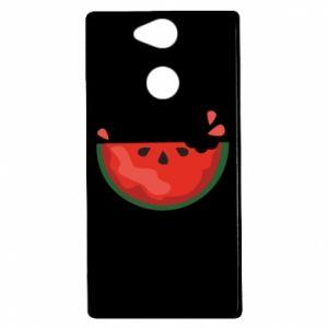 Etui na Sony Xperia XA2 Watermelon with a bite