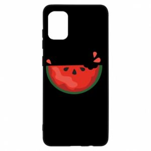 Etui na Samsung A31 Watermelon with a bite