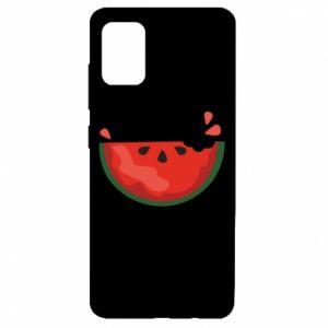 Etui na Samsung A51 Watermelon with a bite