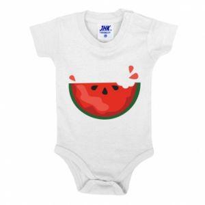 Body dziecięce Watermelon with a bite