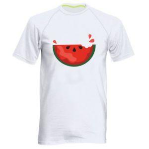 Koszulka sportowa męska Watermelon with a bite