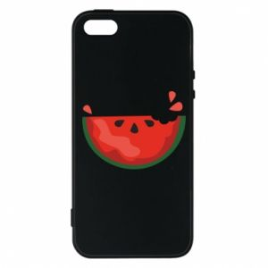 Etui na iPhone 5/5S/SE Watermelon with a bite
