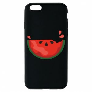Etui na iPhone 6/6S Watermelon with a bite