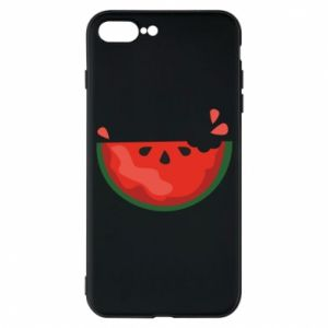 Etui do iPhone 7 Plus Watermelon with a bite